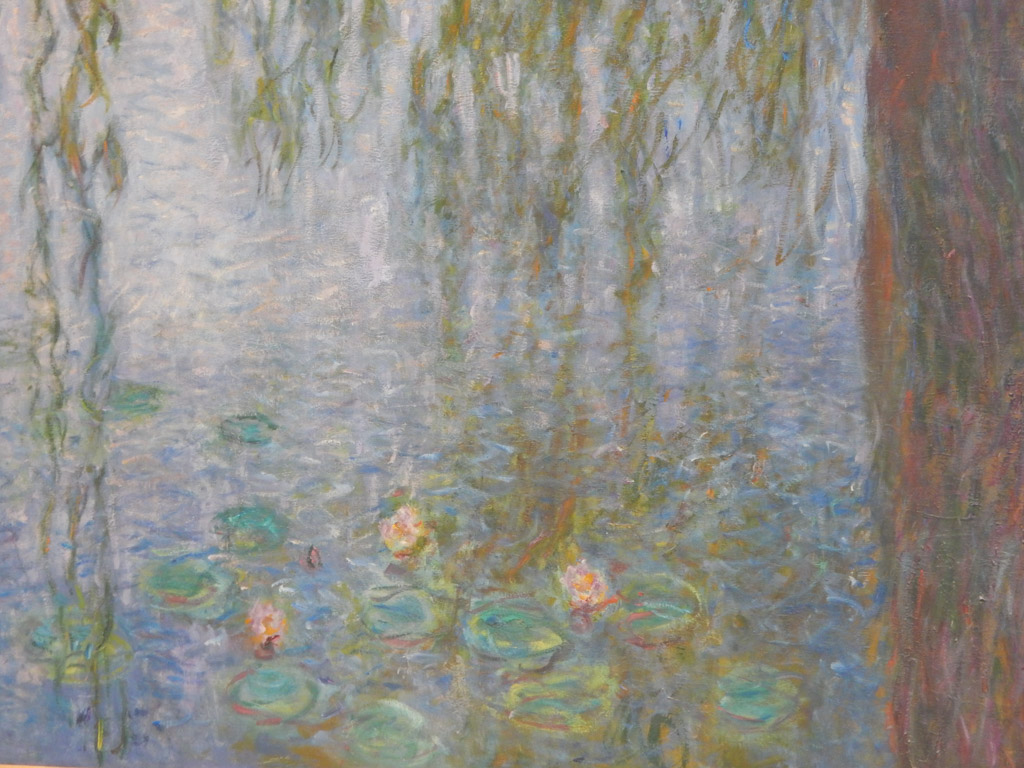 Monet's Waterlilies at Musee de l'Orangerie in Paris