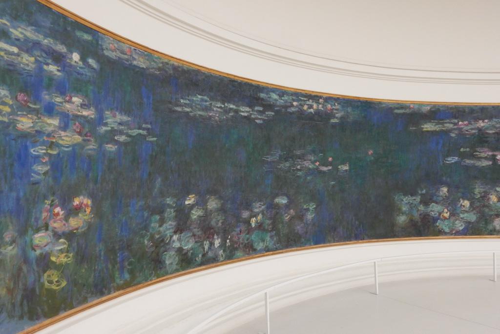 Monet Waterlilies at Musee de l'Orangerie
