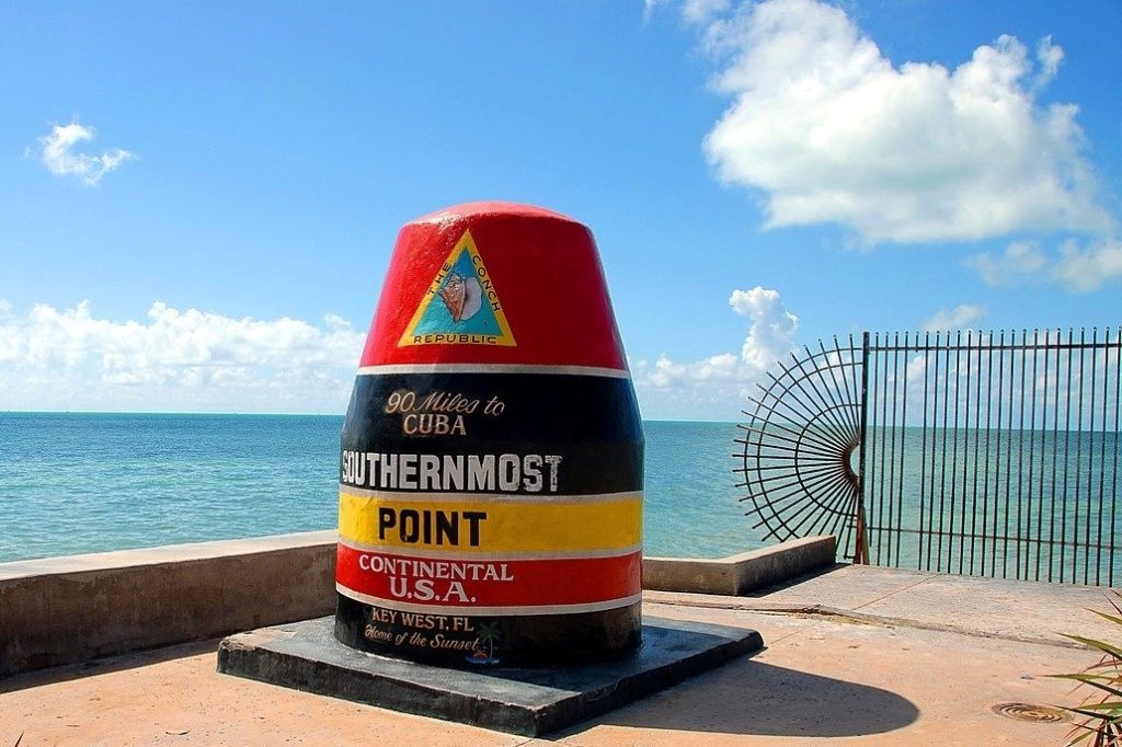 Southernmost Point Buoy & Marker, Key West, Florida