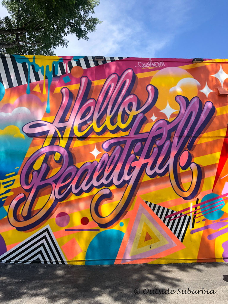 Murals at Wynwood Walls, Miami - outsideSuburbia.com