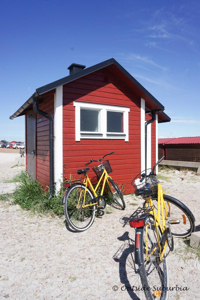 Beach huts at Falsterbo, the Swedish Riviera | Outside Suburbia