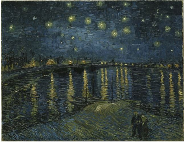 The Starry Night over the Rhone (Musee d'Orsay, Paris)
