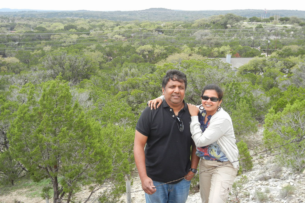 View from the top of Mount Baldy, Wimberley, Texas