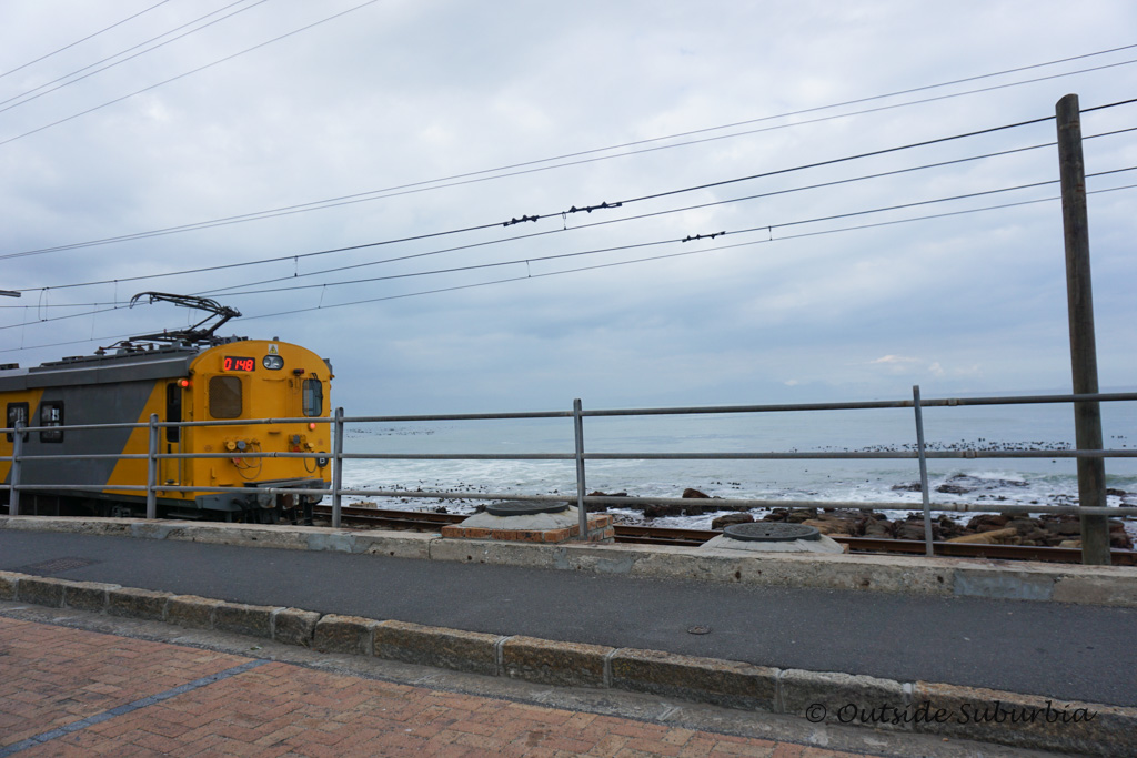 train from Cape Town to Kalk Bay