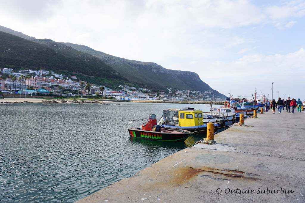 Fishing boats on Kalk Bay, Cape Town - outsidesuburbia.com