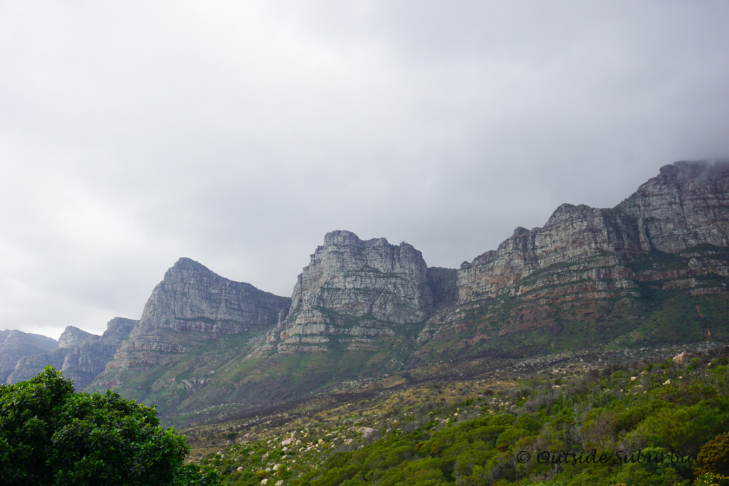 Table Mountain and the seven sisters - Cape Town, South Africa - Photo by OutsideSuburbia.com