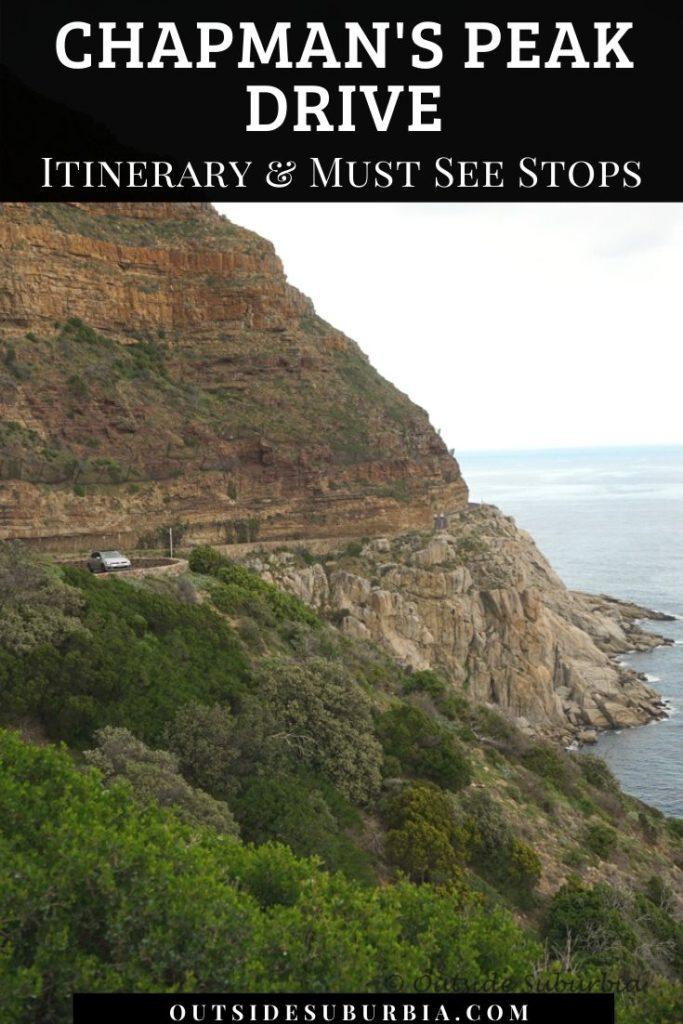 A scenic road trip: Chapman's Peak Drive to Cape Peninsula in Cape Town   Outside Suburbia
