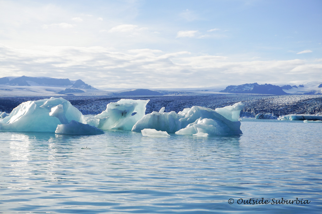 Iceland Glacier tour at Jokulsarlon - OutsideSuburbia.com