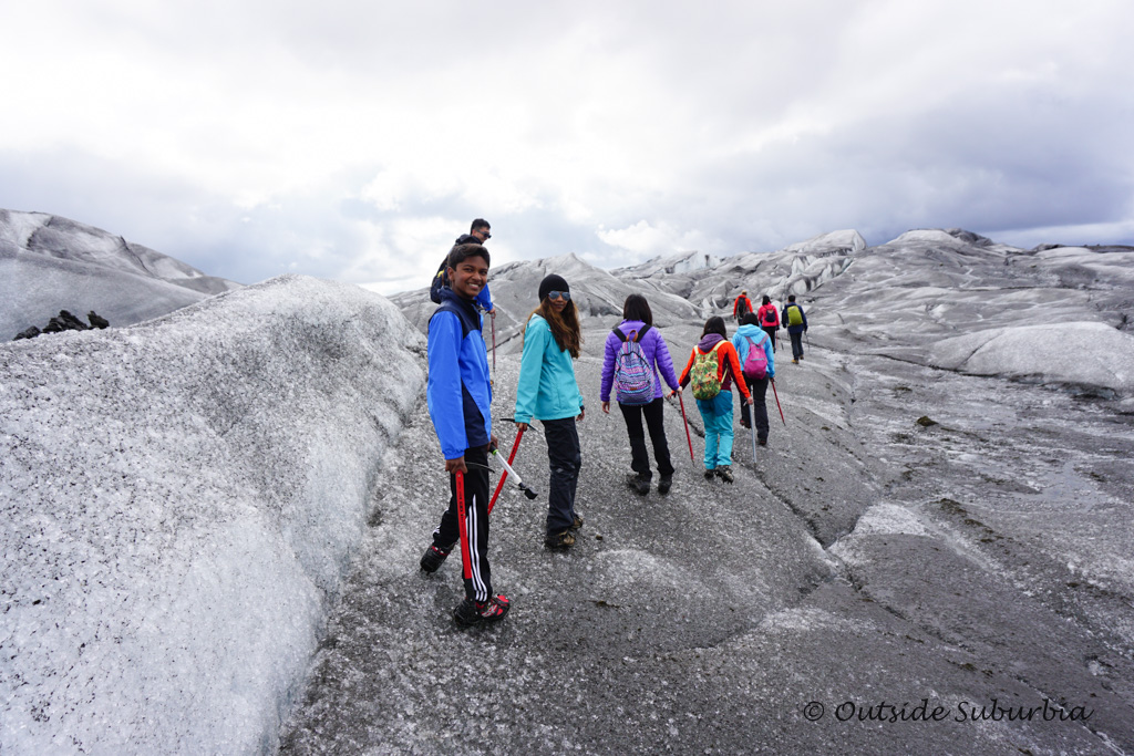 Glacier Hike in Skaftafell National Park in Iceland - OutsideSuburbia.com