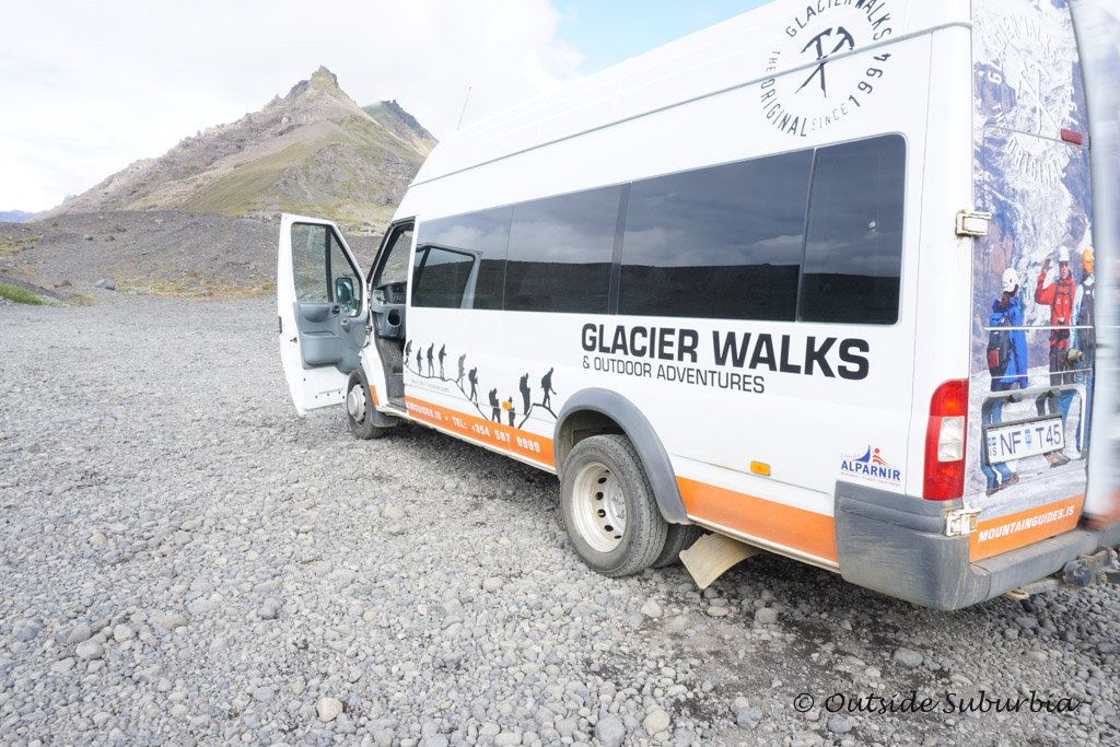 Glacier walk in Skaftafell National Park in Iceland - OutsideSuburbia.com