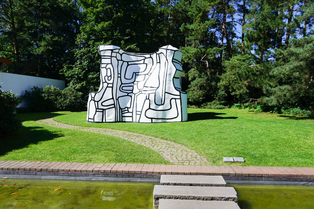 Jean Dubuffet Sculpture - Virtual Museum Walk at Louisiana Museum of Modern Art in Denmark - outsidesuburbia.com