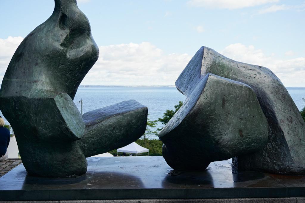 Henry Moore - The Sculpture Park, Louisiana Museum of Modern Art in Denmark