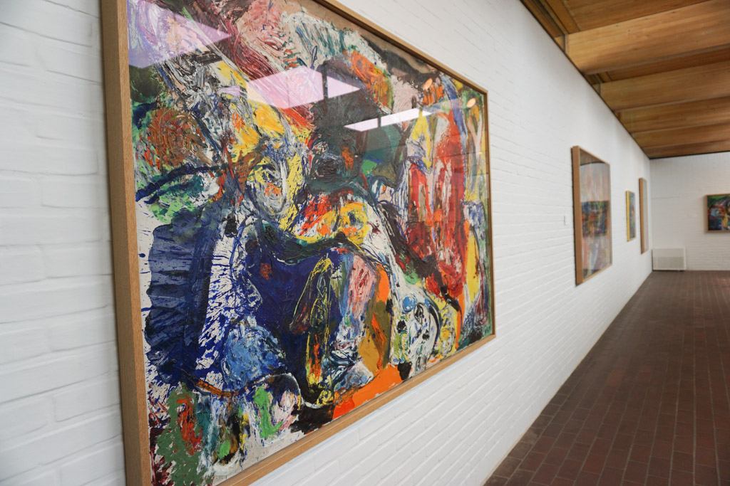 Asger Jorn  - Permanent Collection at Louisiana Museum of Modern Art in Denmark