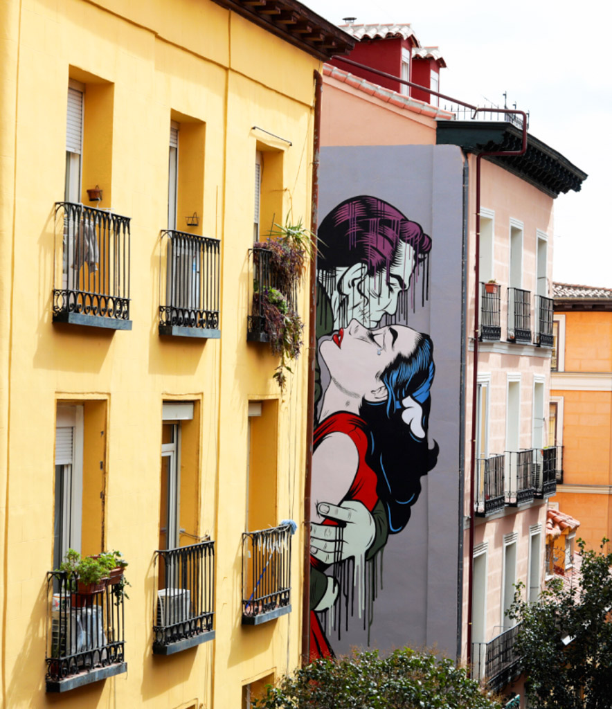 Street Art in Madrid, Spain