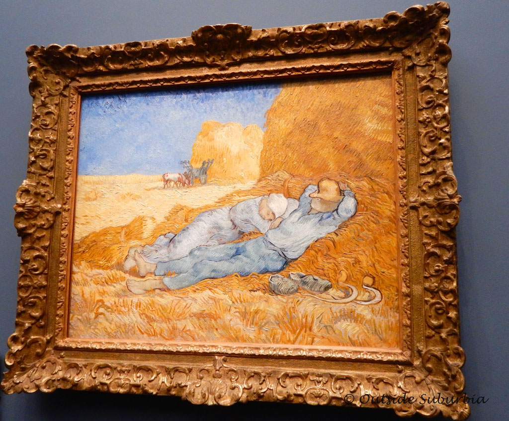 La Méridienne – 1889 - Vincent Van Gogh Paintings You Don't Want to Miss at the Musee d'Orsay