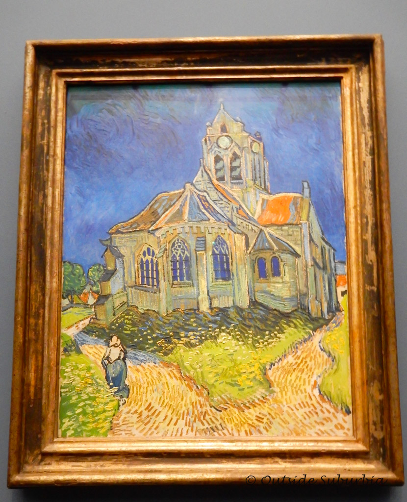 The Church in Auvers-sur-Oise, View from the Chevet  - Van Gogh Paintings You Don't Want to Miss at the Musee d'Orsay