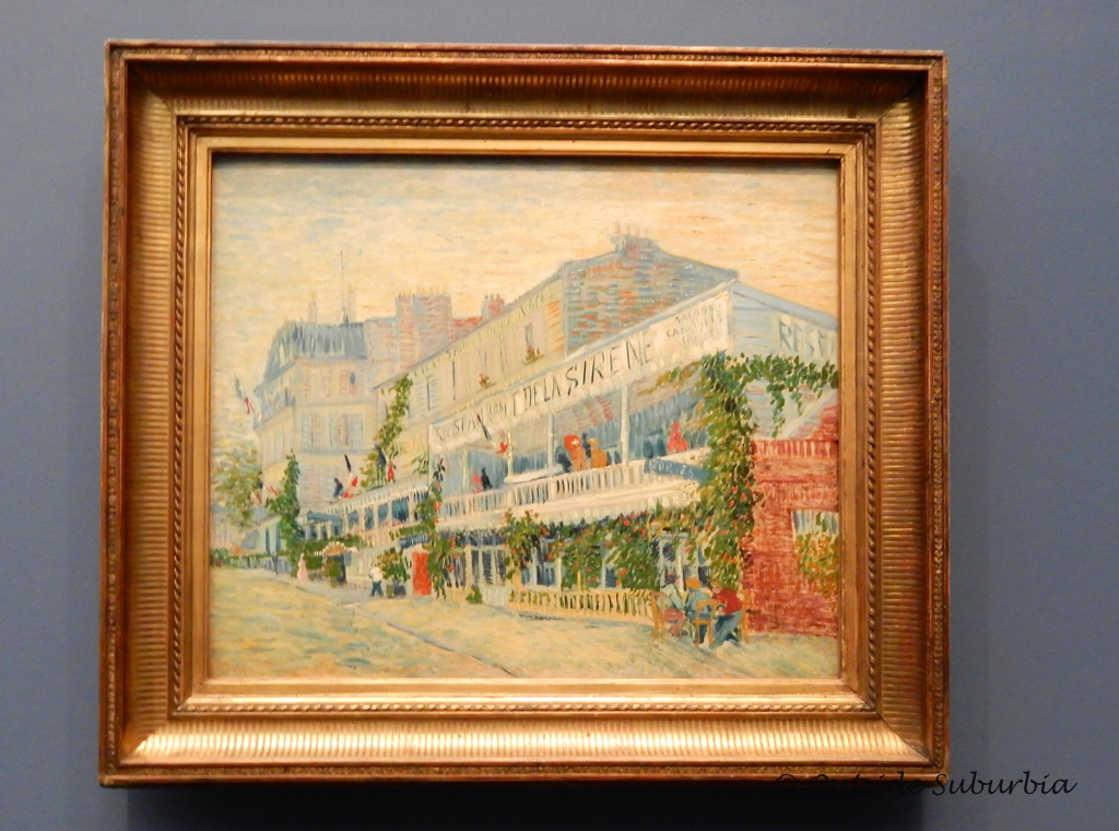 The Restaurant de la Sirène at Asnières  - Van Gogh Paintings You Don't Want to Miss at the Musee d'Orsay
