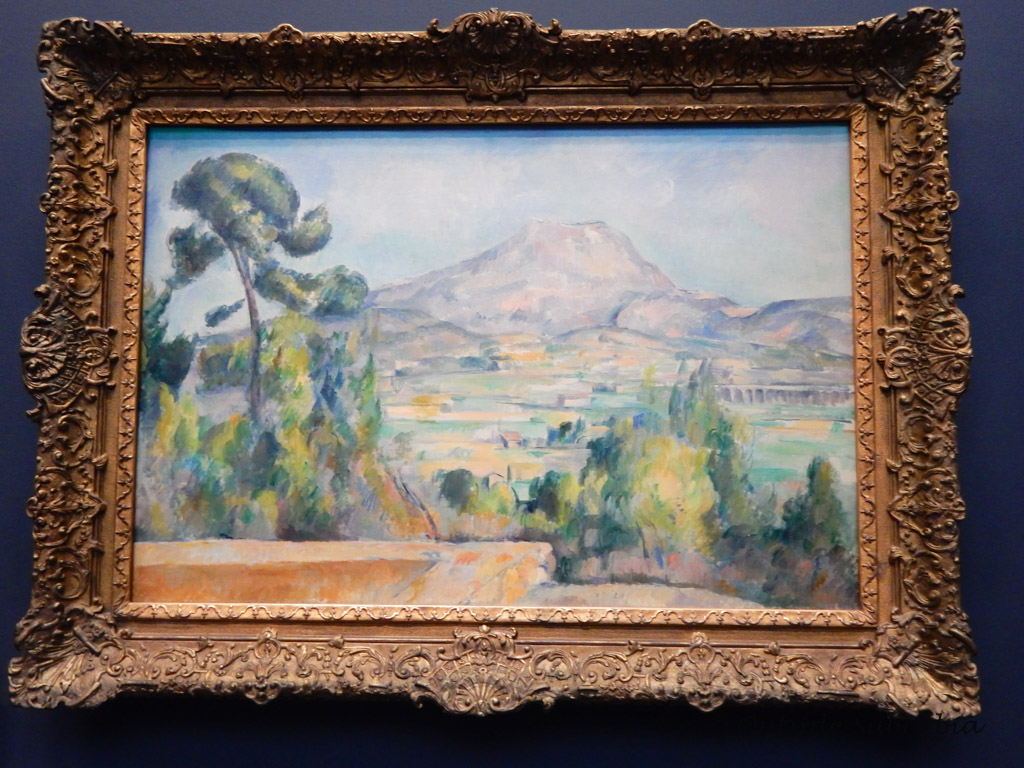 Montagne Sainte-Victoire painting by Paul Cézanne