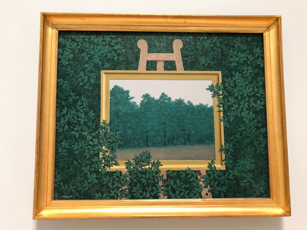 Museum Walk: at the MOMA in San Francisco - Magritte - OutsideSuburbia.com