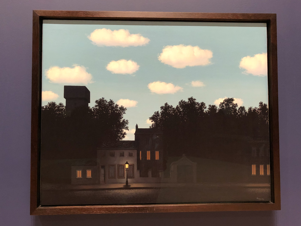 The Empire of Light - series of paintings by Rene Magritte