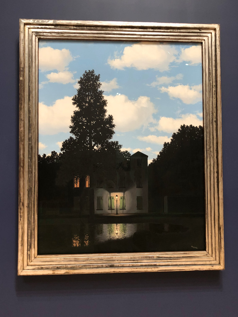 The Empire of Light is a series of paintings by Rene Magritte