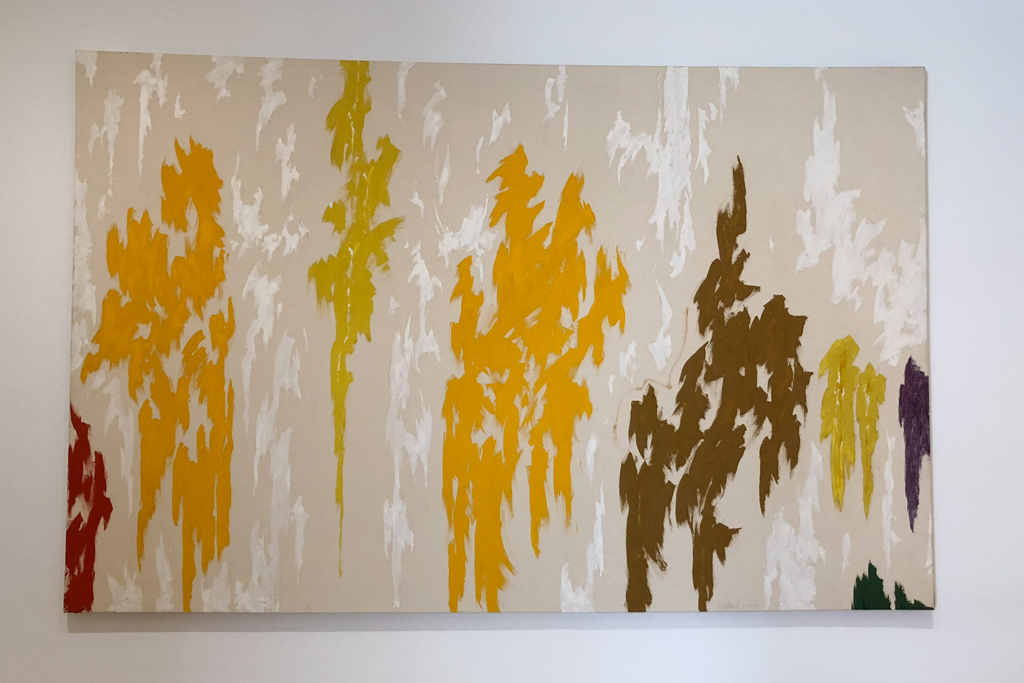 Abstraction by Clyfford Still  at SFMOMA