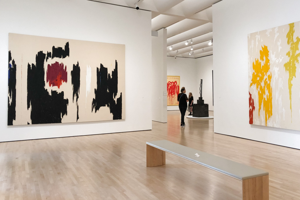 Abstraction by Clyfford Still