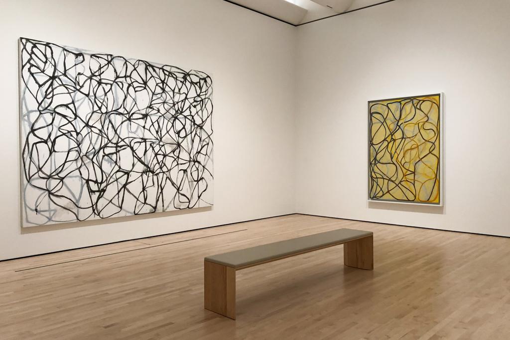 Works by Brice Marden,  American artist described as Minimalist  - SFMOMA
