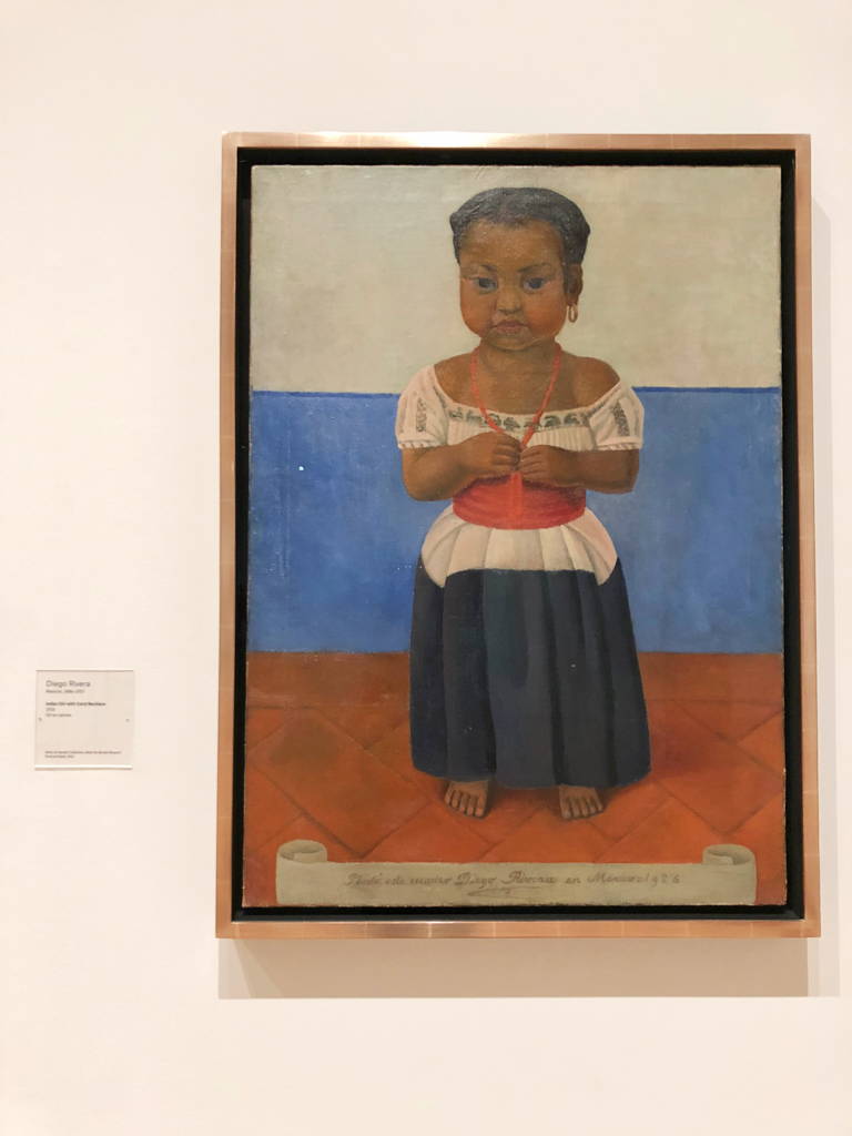 Mexican Child by Diego Rivera