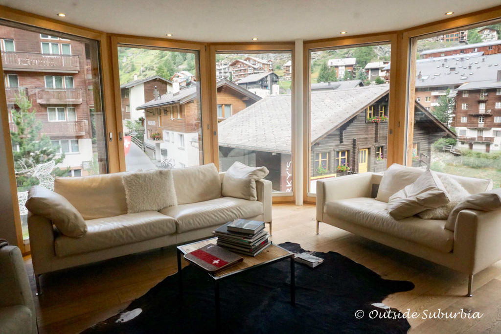 Hotel FireFly, Zermatt a luxurious family owned property part of the Small Luxury Hotels of the World - Outside Suburbia