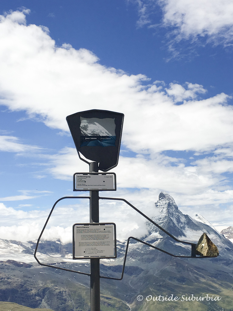 Peak Collection, an artistic exploration of the mountains - Zermatt - Outside Suburbia