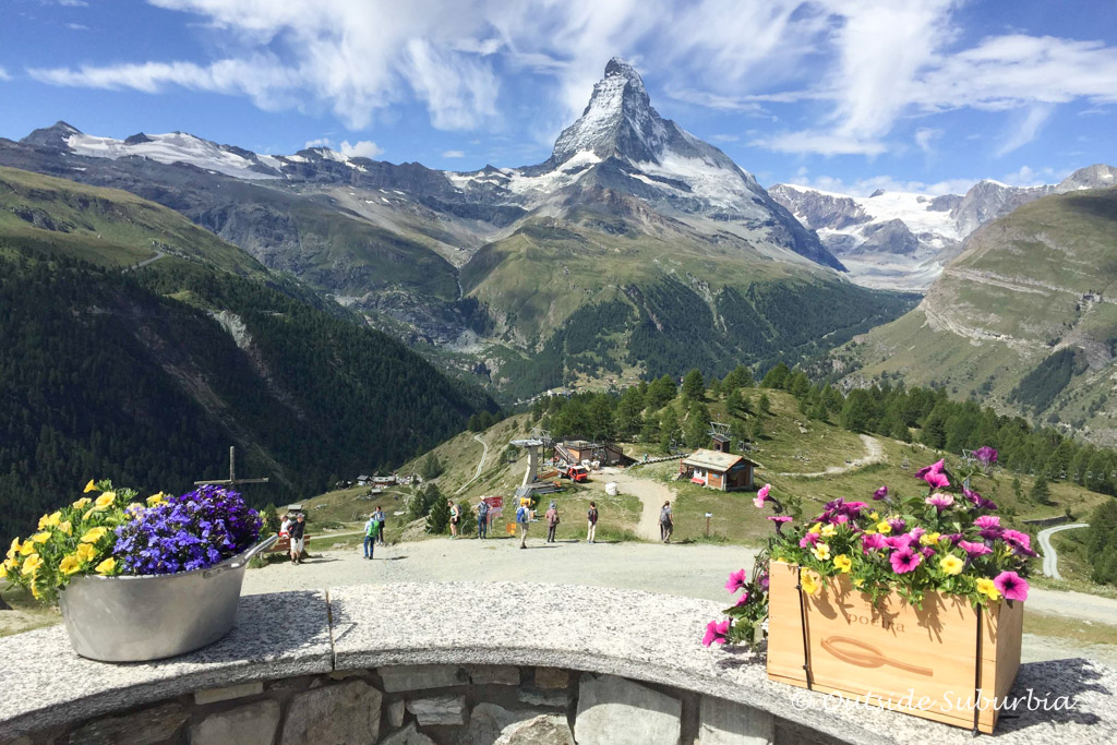 A summer getaway to Zermatt, Switzerland
