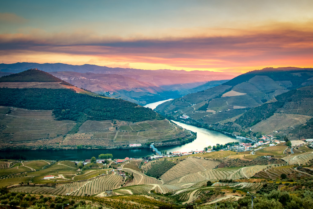 Sunset at Miradouro de Casal de Loivos, Douro Valley - Outside Suburbia