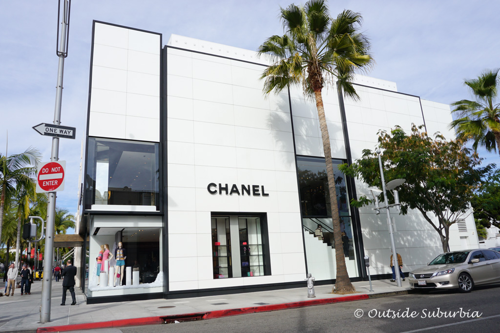 Chanel Store on Rodeo drive, Beverly Hill