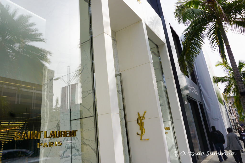 Saint Laurent Store on Rodeo drive, Beverly Hill