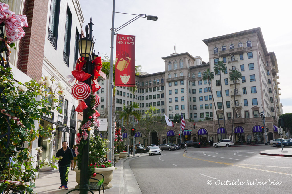 Beverly Wilshire: My (very brief) Pretty Woman moment - Outside Suburbia