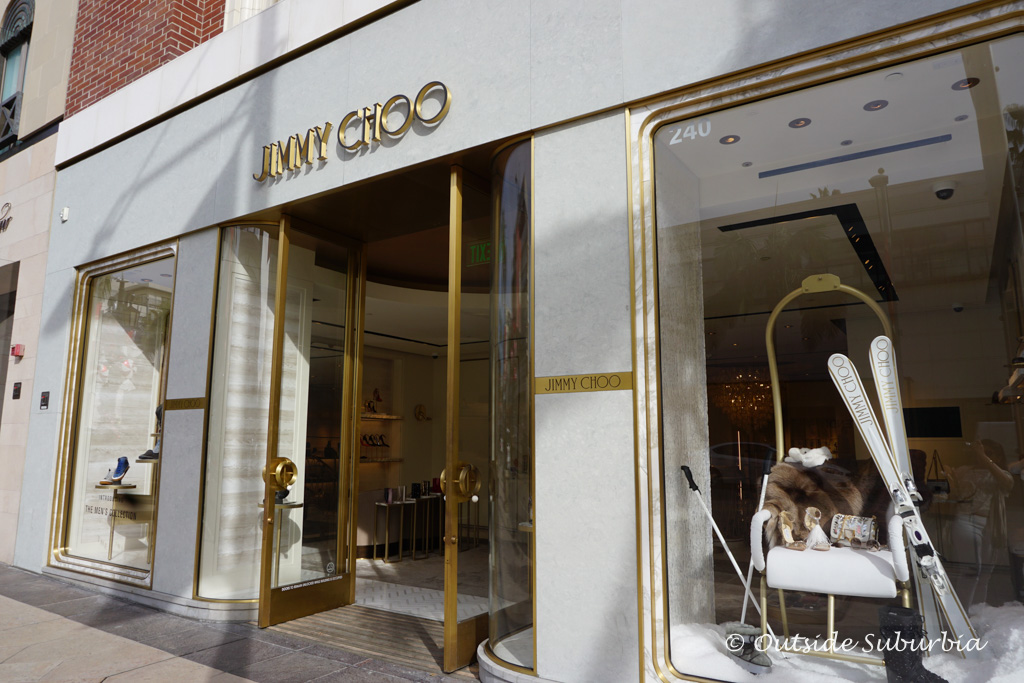Jimmy Choo Store on Rodeo drive, Beverly Hill