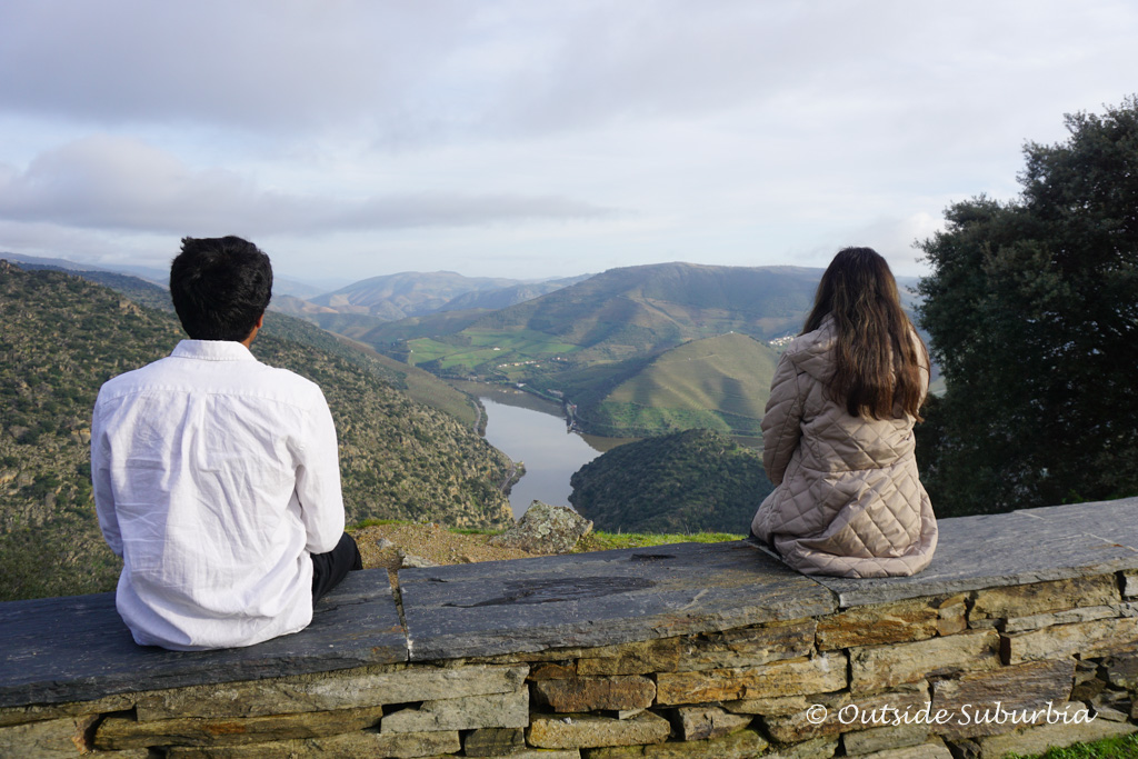 This viewpoint from the sanctuary of S. Salvador do Mundo, Douro Valley, Portugal - Outside Suburbia