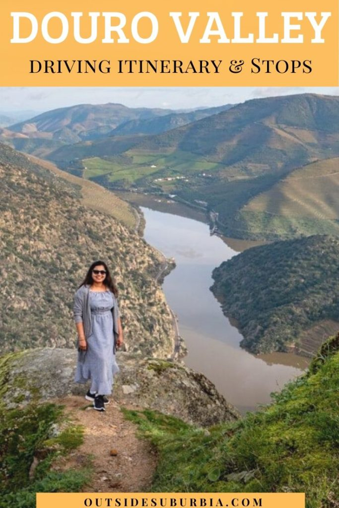 A Scenic Drive on the Terraced Hills of Douro River Valley   Outside Suburbia
