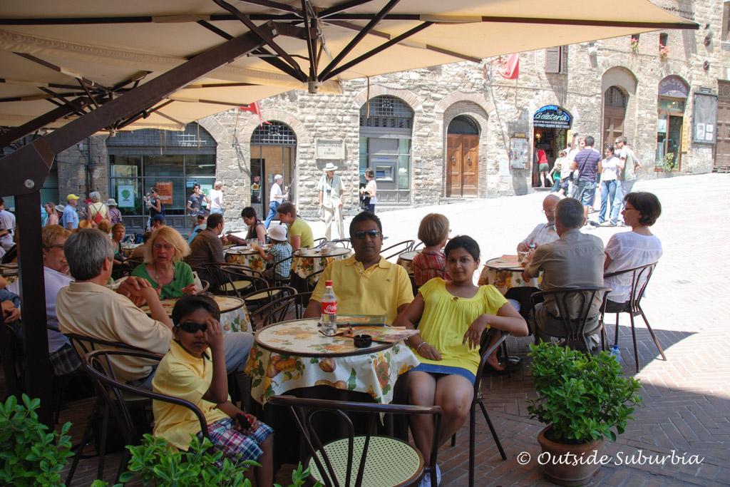 San Gimignano, Italy - Outside Suburbia