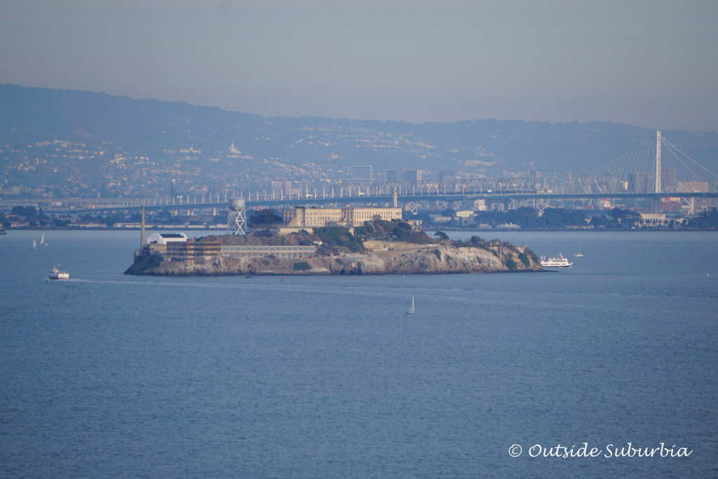 Alcatraz - Best Postcards Views of the Golden Gate Bridge