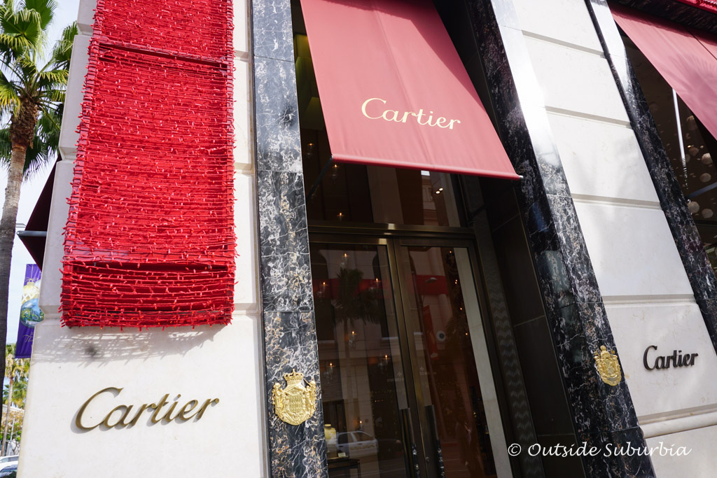 Cartier Store on Rodeo drive, Beverly Hill