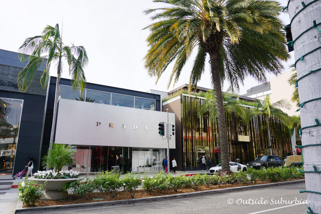 Prada Store on Rodeo drive, Beverly Hill