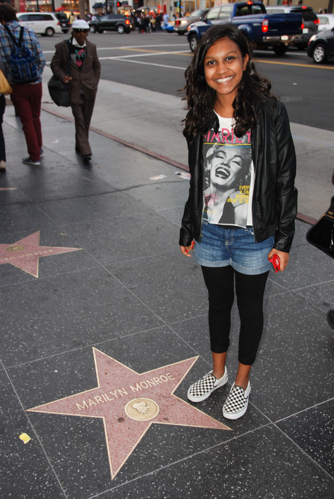 Marilyn Monroe Star in Hollywood
