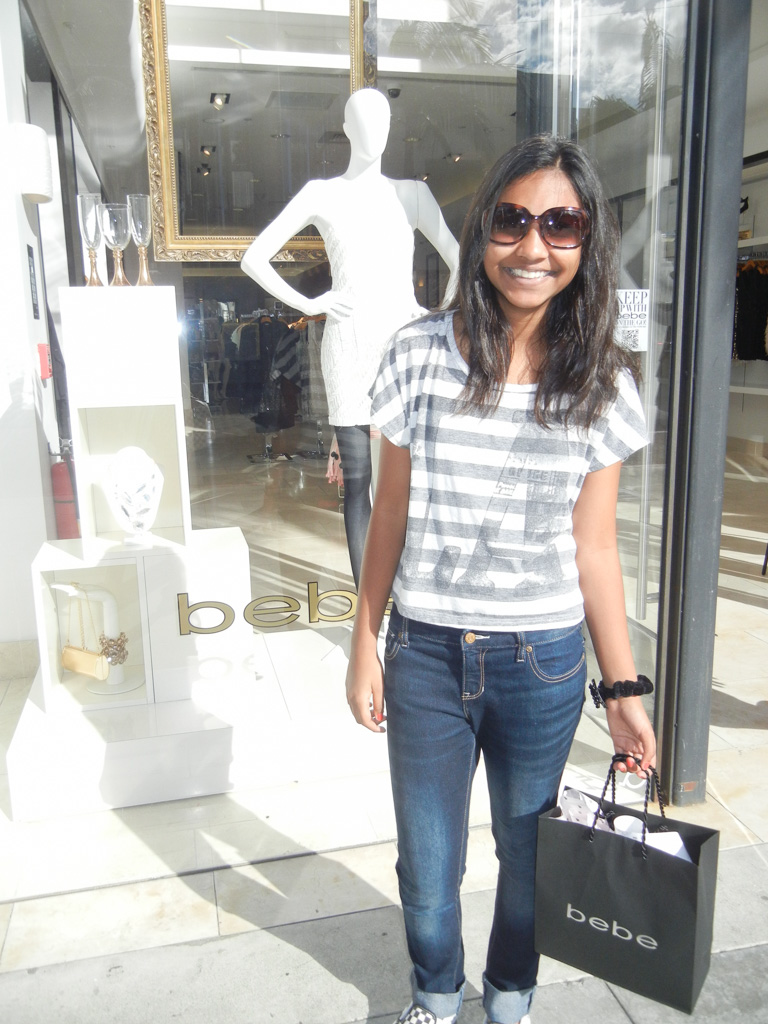 A little shopping on Rodeo drive