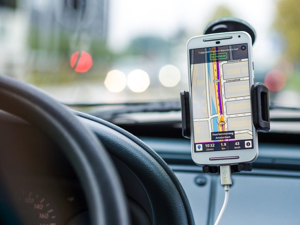 Phone Mount is a big help if you use your phone for navigation - Road Trip Packing List - Outside Suburbia