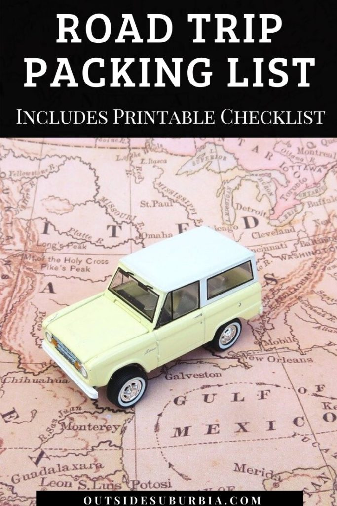 Road Trip Packing List: 25 Things to Pack for a 2020 Road Trip [Includes Printable Checklist]