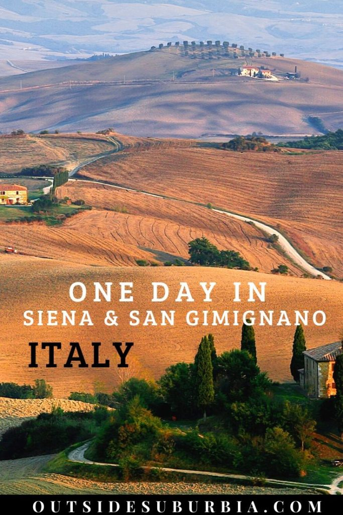How to spend one day in Siena & San Gimignano | Outside Suburbia