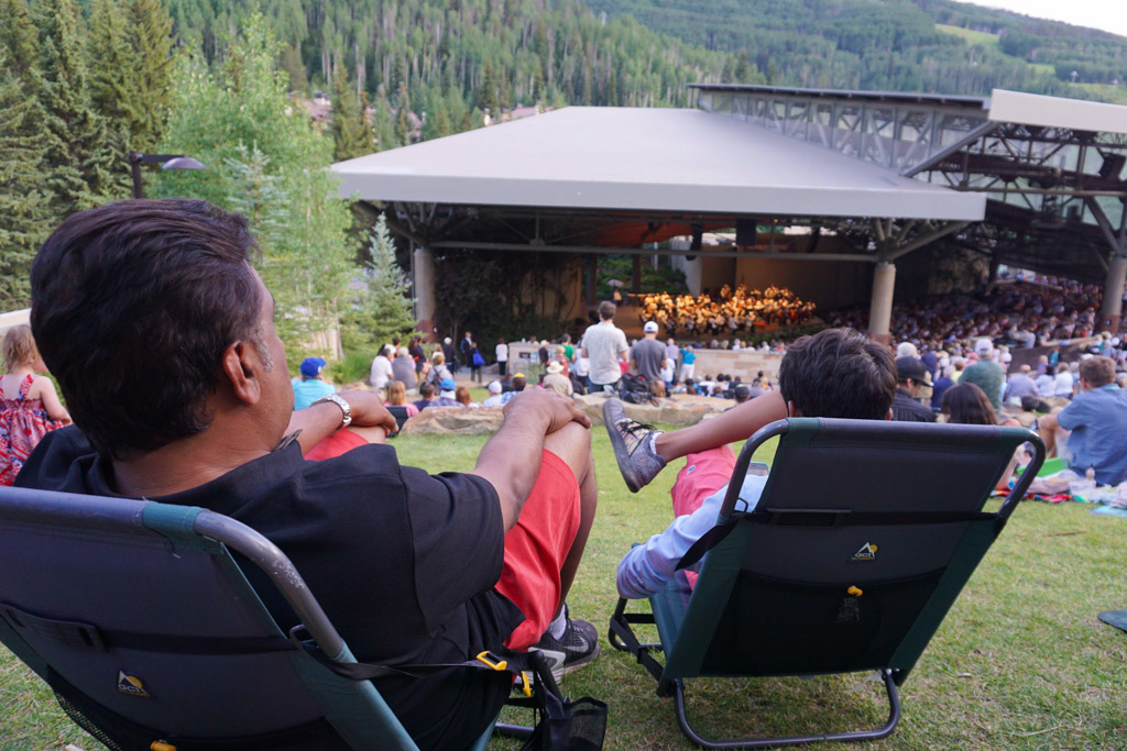 orchestras make their summer home at Bravo! Vail.