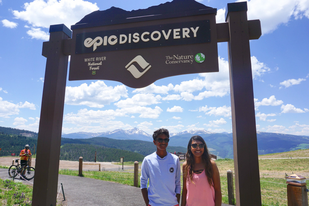 Vail, Elevation 10,350 feet! Read the article to see why we think Summer is Vail is an Epic Adventure #Vail #Colorado #SummerAdventures